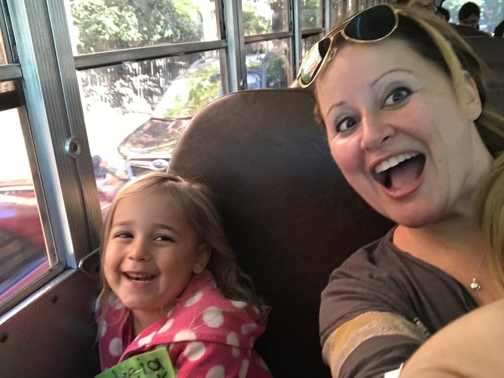 Here we are on the bus to hell! Oh wait. This is the field trip I chaperoned.